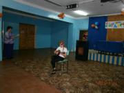 Голубева Диана играет на домре